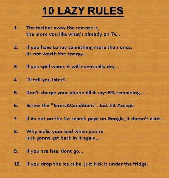 The-10-lazy-rules