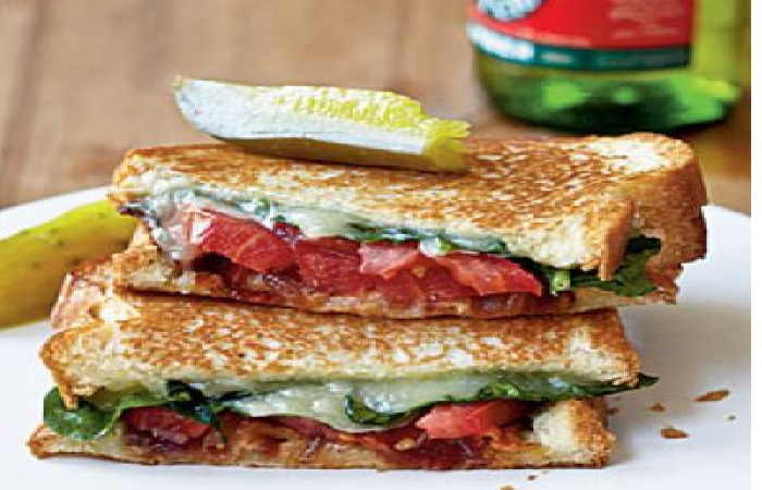 Grown Up Grill Cheese