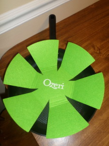 Ozeri Green Earth pan storage pad