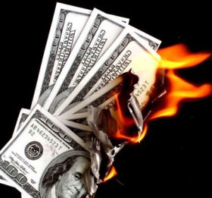 burning through money