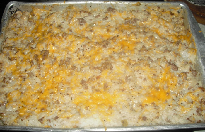 Hamburger Rice Casserole