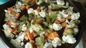 veggies after roasting